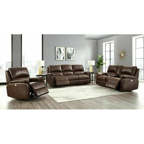 Gallery - Power Reclining Love Seat in Ziggy-Cocoa