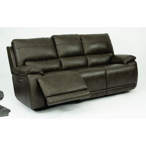 Horizon Power Reclining Sofa with Power Headrests