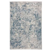 "Milagros Blue Steel - Rectangle - 3'11"" x 5'6"""