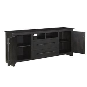 68 Inch Console - Black Finish
