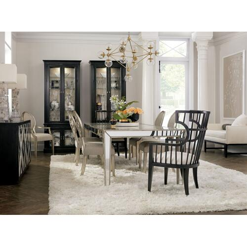 Dining Room Sanctuary Sante Rectangular Dining w/2-18in leaves