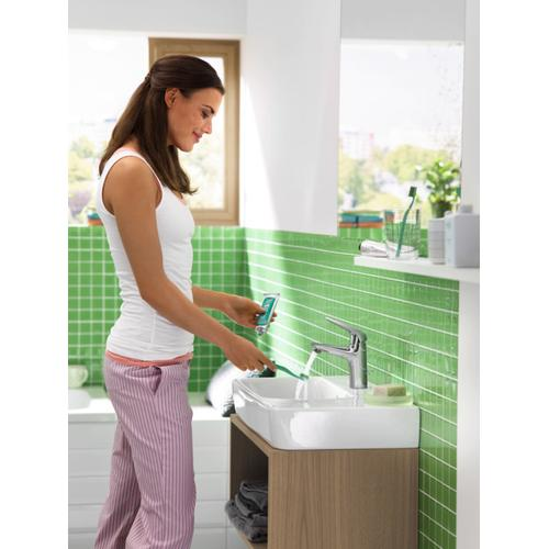 Brushed Nickel Single-Hole Faucet 100 with Pop-Up Drain, 1.2 GPM