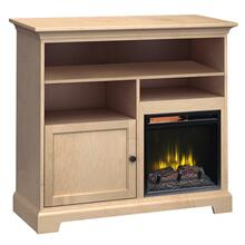 See Details - FT46D Extra Tall Fireplace Custom TV Console