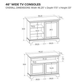 TS46F Custom TV Console