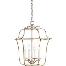 View Product - Gallery Pendant in Century Silver Leaf
