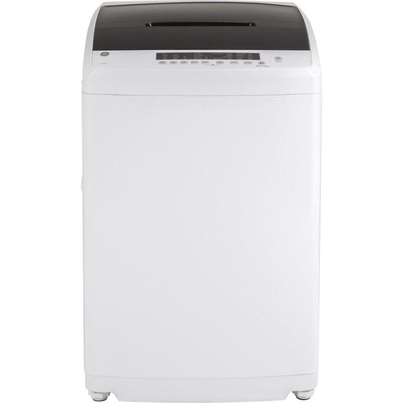 Space-Saving 2.8 cu. ft. Capacity Stationary Washer with Stainless Steel Basket