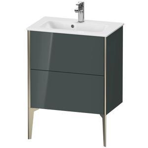 Vanity Unit Floorstanding Compact, Dolomiti Gray High Gloss (lacquer)