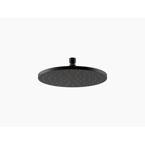 "Matte Black 10"" 1.75 Gpm Rainhead With Katalyst Air-induction Technology"