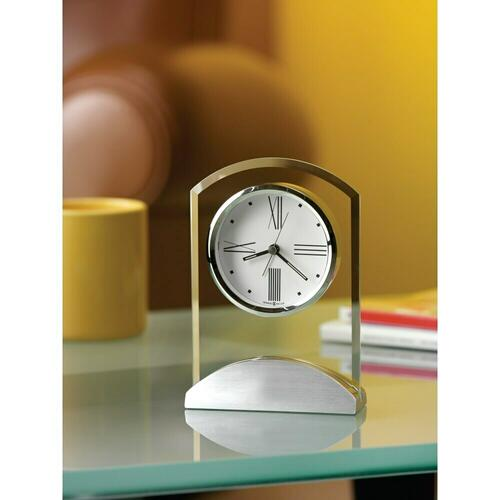 Howard Miller Tribeca Glass Alarm & Table Clock 645397