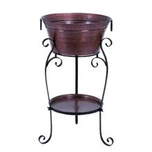 "METAL WINE COOLER 35""H, 20""W"