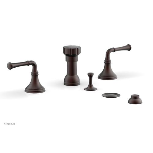 3RING Four Hole Bidet Set D4205 - Weathered Copper