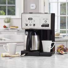 See Details - Coffee Plus 10 Cup Programmable Coffeemaker plus Hot Water System