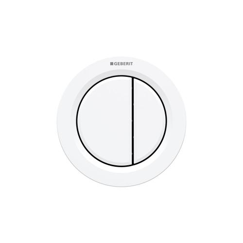 Type 01 Remote flush buttons for Sigma and Omega series in-wall toilet systems Furniture installation, Sigma or Omega 2x6 in-wall systems Compatibility Alpine white Finish