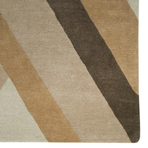 Intersection Sand Hand Tufted Rugs