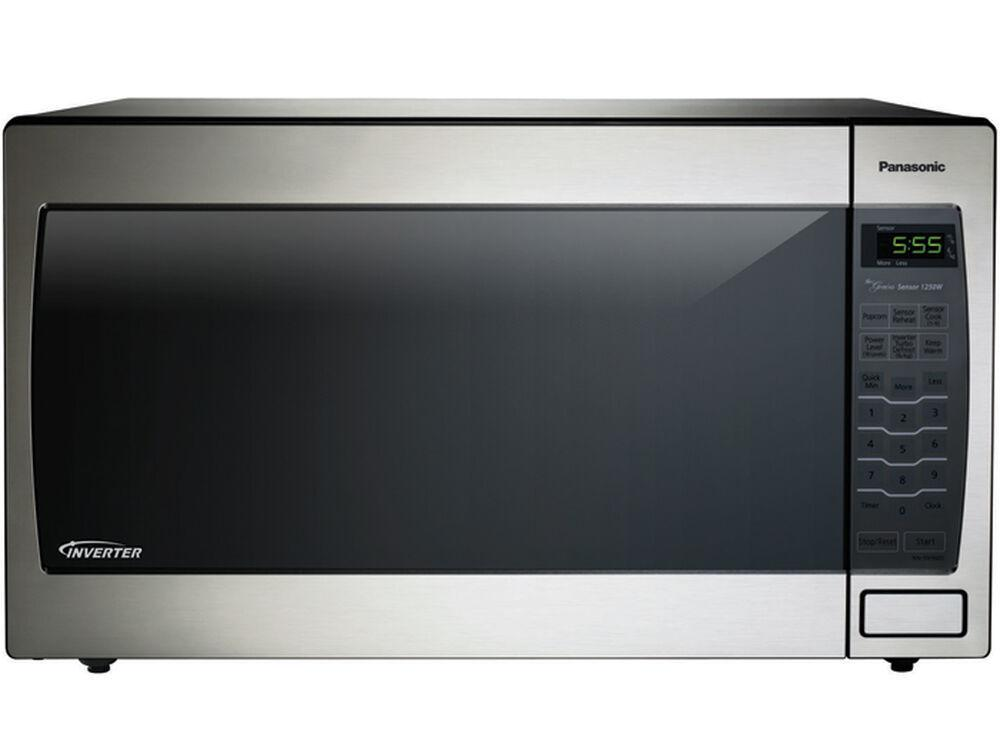 PanasonicLuxury Full-Size 2.2 Cu. Ft. Genius Microwave Oven With Inverter Technology, Stainless