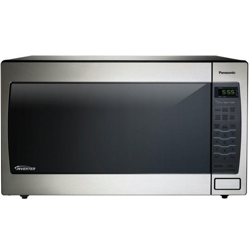 Luxury Full-Size 2.2 cu. ft. Genius Microwave Oven with Inverter Technology, Stainless