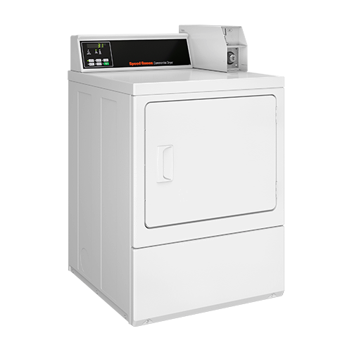 Product Image - Electric Dryer - Coin-Operated - Rear Control