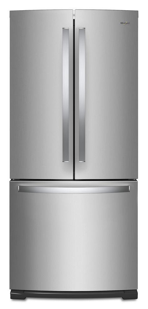 Whirlpool30-Inch Wide French Door Refrigerator - 20 Cu. Ft.