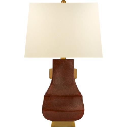 Visual Comfort - E. F. Chapman Kang Jug 29 inch 100.00 watt Autumn Copper with Burnt Gold Table Lamp Portable Light, Large