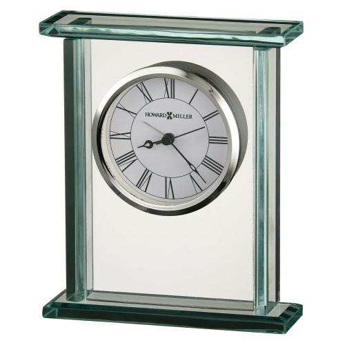 Howard Miller Cooper Glass Alarm Clock 645643
