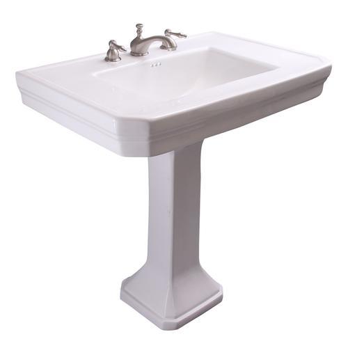 "Corbin Pedestal Lavatory - 8"" Widespread"