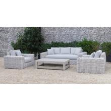 See Details - Renava Portugal - Outdoor Grey Wicker Sofa Set