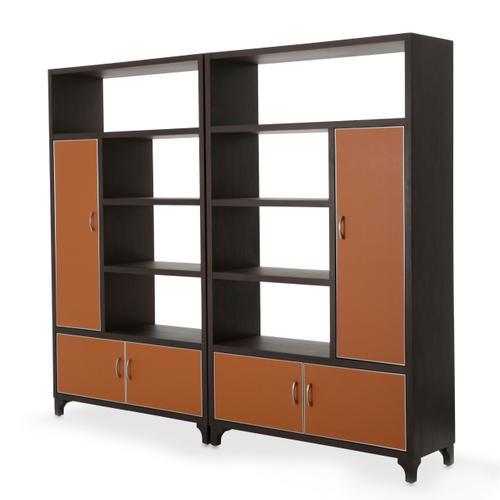 Amini - 2 Piece Bookcase Unit