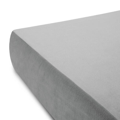Brighton Bed Gel Memory Foam Mattress Full Grey