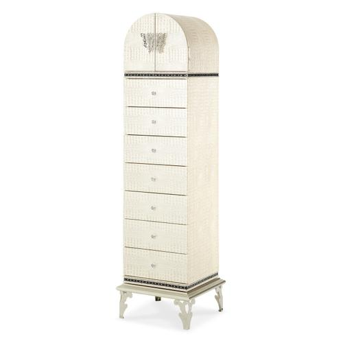 Upholstered Swivel Lingerie Chest