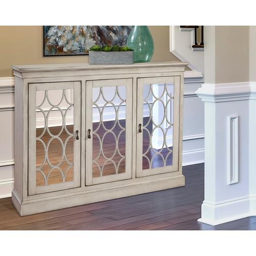 Three Door Accent Cabinet