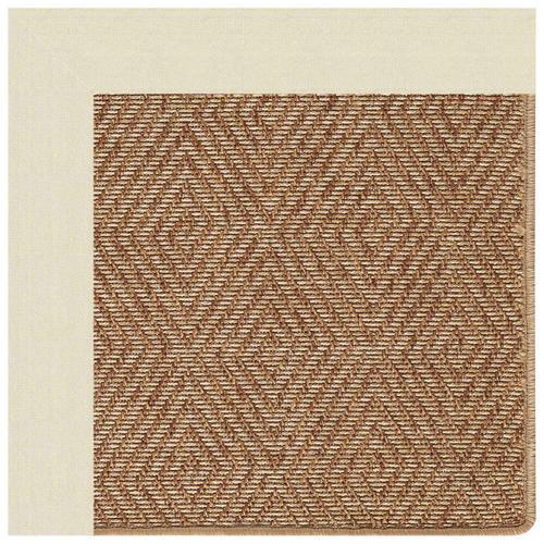 "Capel Rugs - Islamorada-Diamond Canvas Sand - Rectangle - 24"" x 36"""