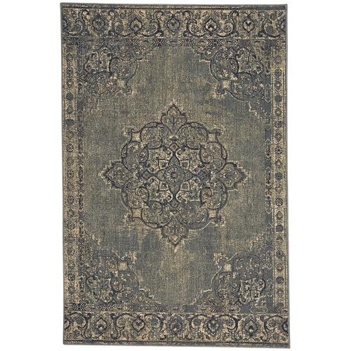 Austin-Kirman Mist Green Machine Woven Rugs