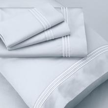 Supima® Cotton Sheet Set - Light Blue / Split King