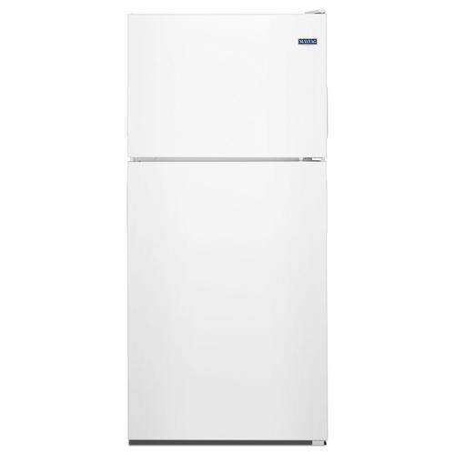 Product Image - 30-Inch Wide Top Freezer Refrigerator with PowerCold® Feature- 18 Cu. Ft. White
