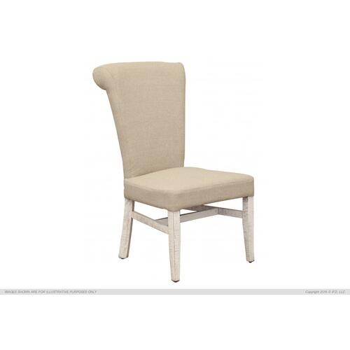Uph. Chair w/ Handle on Back Rest