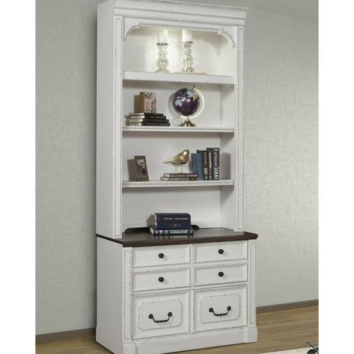 See Details - PROVENCE 2pc Lateral File & Hutch