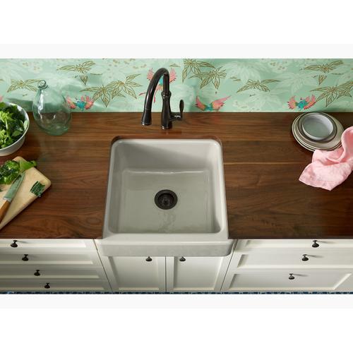 "Black Black 23-1/2"" X 21-9/16"" X 9-5/8"" Undermount Single-bowl Farmhouse Sink"