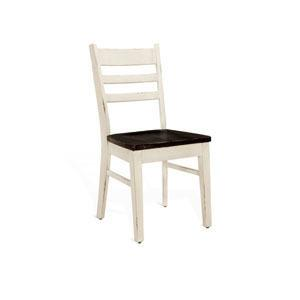 Carriage House Ladderback Chair w/ Wood Seat