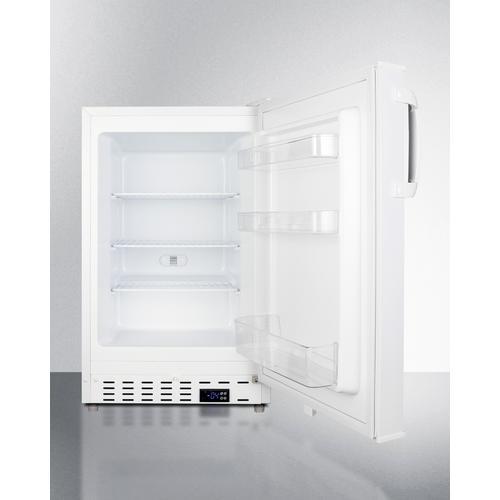 "Summit - 20"" Wide Built-in Momcube(tm) All-freezer, ADA Compliant"