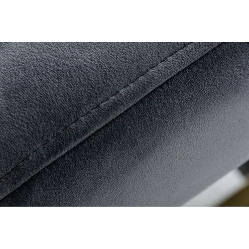 VIG Furniture - Modrest Xane - Contemporary Dark Grey & Antique Brass Bench