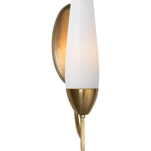Barbara Barry Bowmont 1 Light 4 inch Soft Brass Bath Wall Light