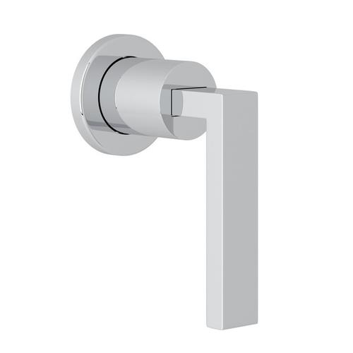 Polished Chrome Wave Trim For Volume Control And Diverter with Wave Metal Lever
