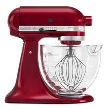 Artisan® Design Series 5 Quart Tilt-Head Stand Mixer with Glass Bowl Grenadine