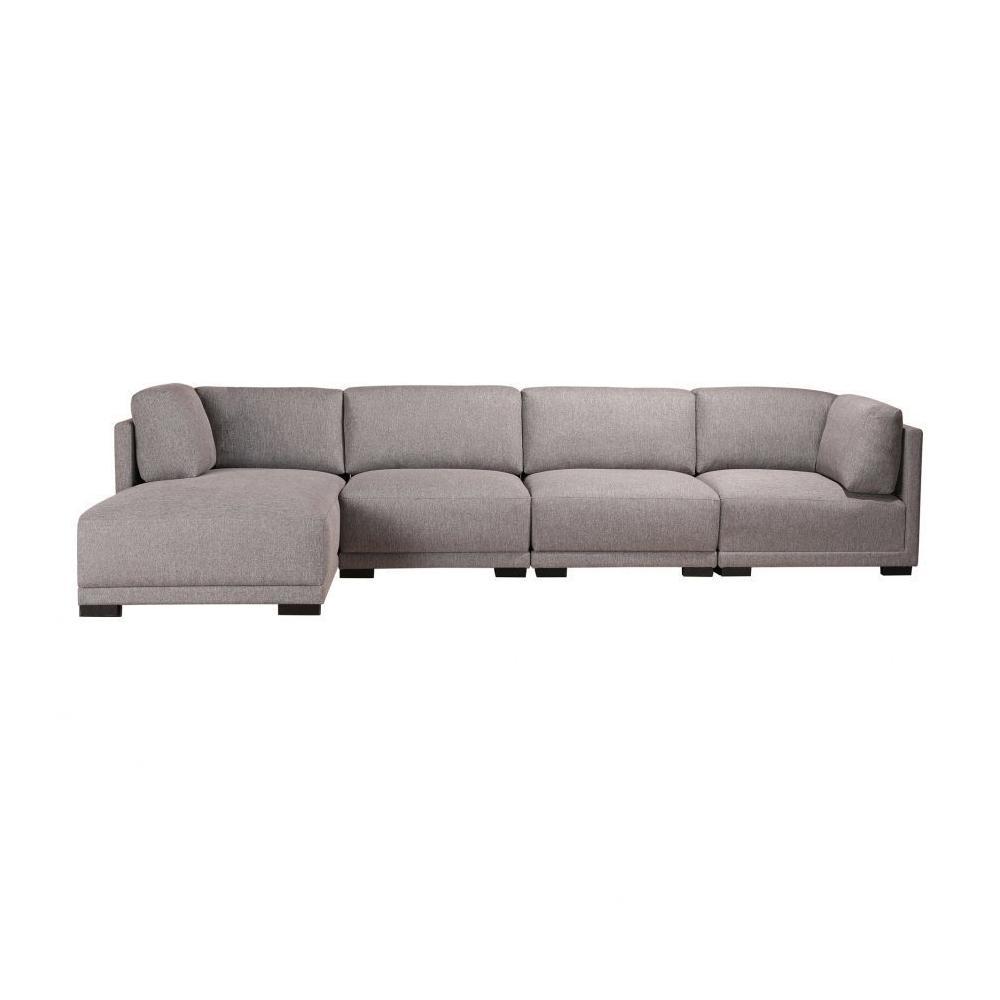 Romeo Modular Sectional Left Grey