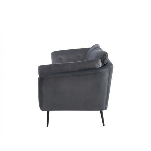 VIG Furniture - Divani Casa Cody - Modern Dark Grey Fabric Sofa