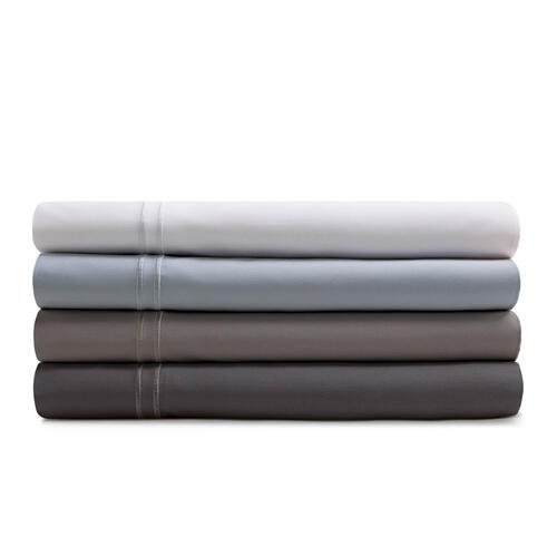 Supima Cotton Sheets Queen Pillowcase Smoke