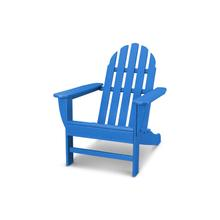 Pacific Blue Classic Adirondack Chair