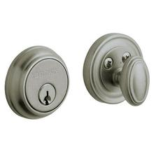 Antique Nickel Traditional Deadbolt