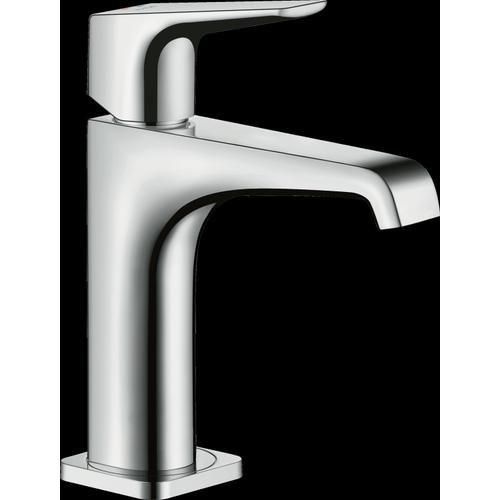 Chrome Single-Hole Faucet 125 with Lever Handle, 1.2 GPM