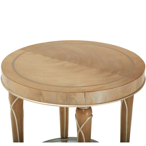 Villa Cherie End Table Caramel